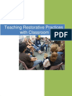 Teaching Restorative Practices in the Classrooml