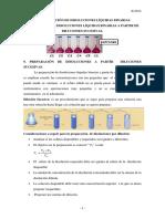 Preparación de disoluciones líquidas binarias a partir de Diluciones Sucesivas