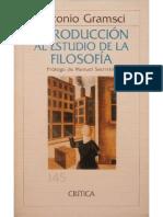 Antonio Gramsci - Introducción al estudio de la filosofía