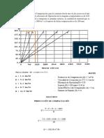 Calcular La Producción de Compactación