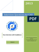 CAD Interview Questions Module 2