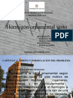 Hormigon Ornamental Visto