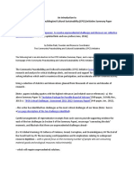 8 Page Introduction to CPCS Summary Paper