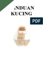 PANDUAN KUCING