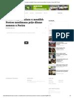 Ponižavanje Na Ulazu u Mesdžid_ Pretres Muslimana Prije Džume Namaza u Parizu SAFF Portal