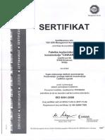 Galvanization Factory Certificate