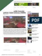 Islamofobično Nasilje Francuske Policije u Halal Restoranu (VIDEO) SAFF Portal