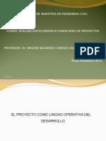Evaluación Económica Financiera de Proyectos de Inversión