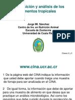 Composición y Análisis de Los Alimentos Tropicales