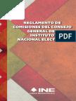 02 - Reglamento de Comisiones Del Consejo General Del Instituto Nacional Electoral
