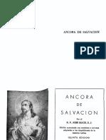 Ancora de Salvacion (José Mach) Devocionario