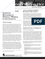 Ethics Pract Limited Resources Sept 2000 e