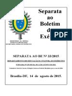 Sepbe33 15 Port 135 Decex Aprov Cursos Estágios Gerais Eb 2016