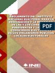 03 - Reglamento del INE para la designación y la remoción de las y los Consejeros Presidentes y las y los Consejeros Electorales de los Organismos Públicos Locales Electorales.pdf