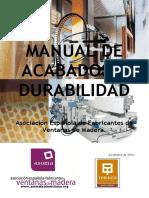 Manual de Durabilidad y Acabados en Ventanas de Madera