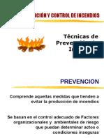 Clase 05.Técnicas de Prevención y Control de Incendios.