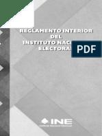 06 - Reglamento Interior Del Instituto Nacional Electoral