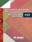 11 - Reglamento de Sesiones de Los Consejos Locales y Distritales Del INE