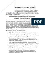 Qué Es El Instituto Nacional Electoral