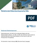 4. RelationaleDatenbankspracheSQL
