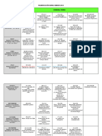 Cronograma Anual Unidades 2016