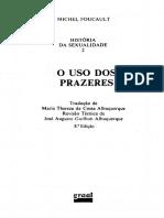 FOUCAULT, Michel - História da Sexualidade II.pdf