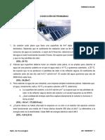 Problemas de Energia Solar