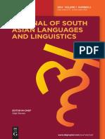 Kulikov,Grammaticalization of Reciprocal Pronouns in IAr,IE - JSALL 1.2(2014)