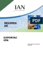 Regimen Exportacion 15 Mayo