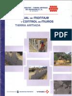 Manual de Montaje y Control de Muros Tierra Armada