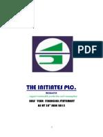 The Initiates Plc Half Year Acct 2015