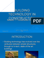 Session 1a - Building Technology in Construction