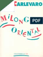 Milonga Oriental -Abel Carlevaro