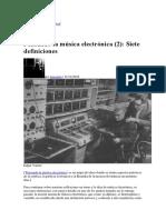 Pensando la música electrónica (2) Siete definiciones.pdf