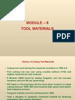 Module 6, Tool Materials