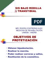 Prótesis Bajo Rodilla (Bk)