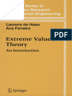 Extreme Value Theory Introduction DeHaanFerreira