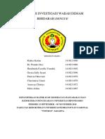 Langkah Investigasi Wabah Demam Berdarah Dengue