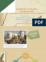 Asphalt Mix Production