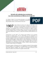 100 años de crisis en México.pdf