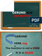 Gerund vs Infinitive