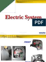 Course Electric System Backhoe Loaders Komatsu