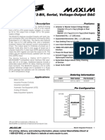 Datasheet - AX5312 12-bit ±10 12 15V DAC MAX5312
