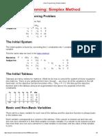 Linear Programming_ Simplex Method
