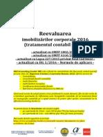 Reevaluarea Imobilizarilor Corporale 2016