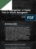 Waste Segregation Ppt
