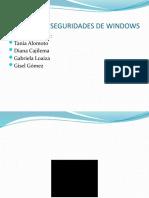 amenazas y seguridades en windows 7 xp