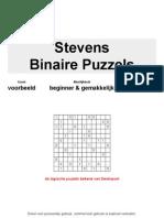 Binaire Puzzels Voorbeeld Oneven NL
