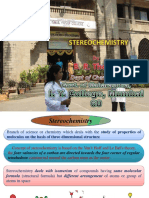 Stereochemistry MSc