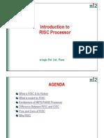 RISC Intro